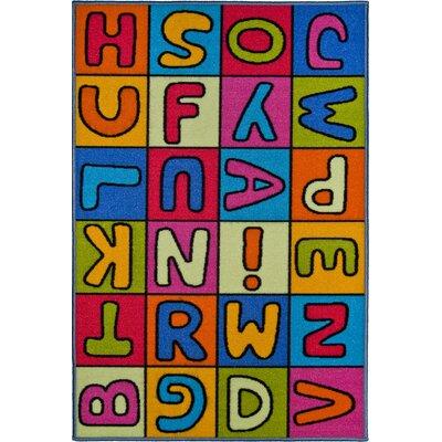 Andiamo Kinderteppich Buchstaben in Bunt