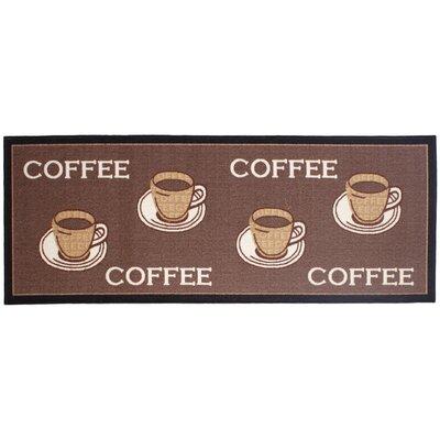 Andiamo Läufer Coffee in Braun