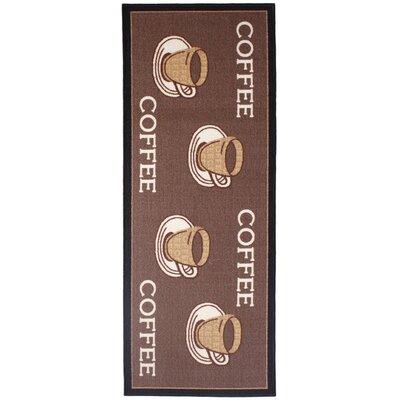 Andiamo Läufer Kaffee in Braun