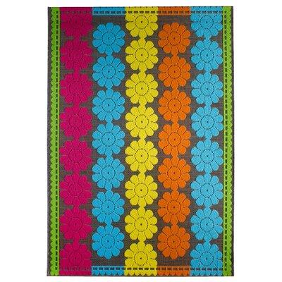 Luxor Living Teppich Samba in Blau/Rosa