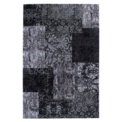 Luxor Living Teppich Barock in Schwarz / Weiß
