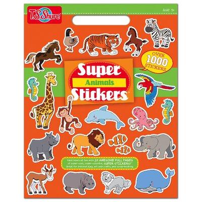 Animals Super Sticker Book