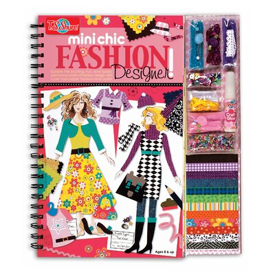 Mini Chic Fashion Designer Book and Kit