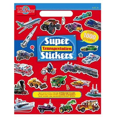 Transportation Super Stickers Book