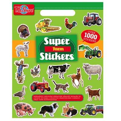 Farm Super Stickers Book