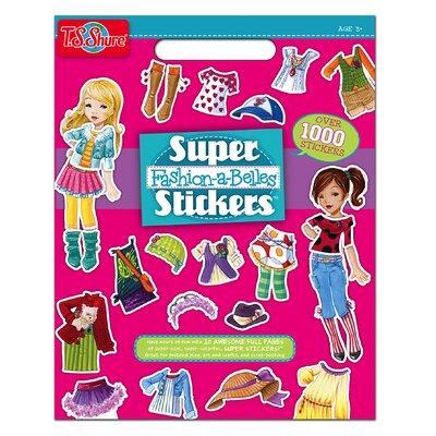 Fashion Super Stickers Book