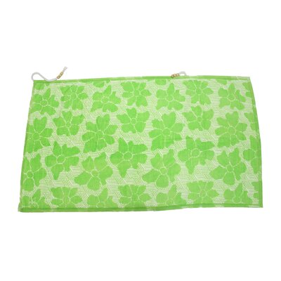 Embrace Casmus 100% Cotton Beach Towel Color: Green