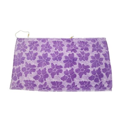Embrace Casmus 100% Cotton Beach Towel Color: Purple