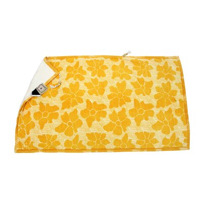 Embrace Casmus 100% Cotton Beach Towel Color: Yellow