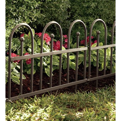 18 in. x 120 in. Iron Fence Edging