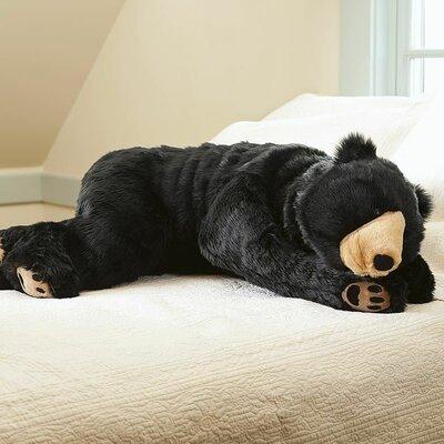 Plow & Hearth Bear Hug Body Pillow