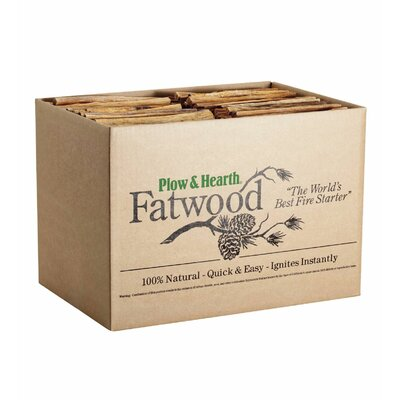Fatwood Fire Starter Size: 12 lbs