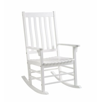 Rocking Chair Frame Color: White