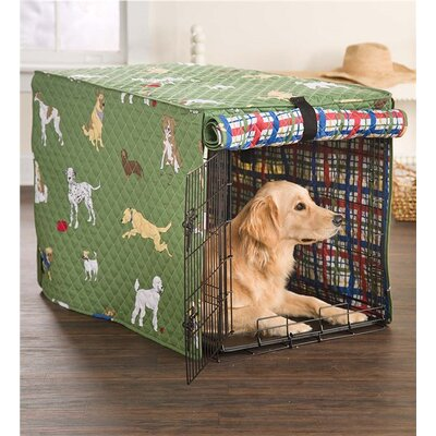 """Bossier Bedtime Crate Cover Size: 26"""" H x 24"""" W x 37"""" D"""