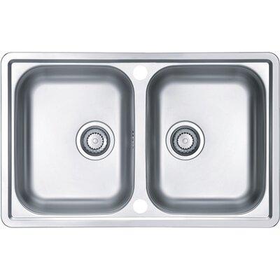 Alveus Alveus Line 90  79 cm x 50 cm Kitchen Sink