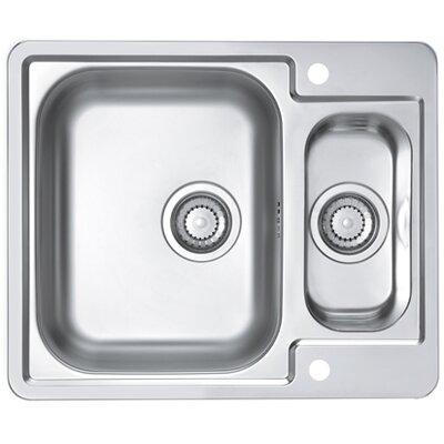 Alveus Alveus Line 50  61.5 cm x 50 cm Kitchen Sink