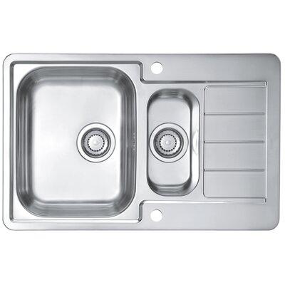 Alveus Alveus Line 70  79 cm x 50 cm Kitchen Sink