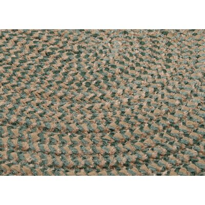 Colonial Mills Softex Check Myrtle Green Check Sample Swatch