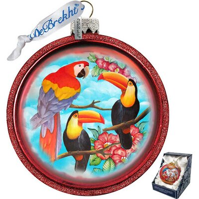 Parrot Shaped Ornament