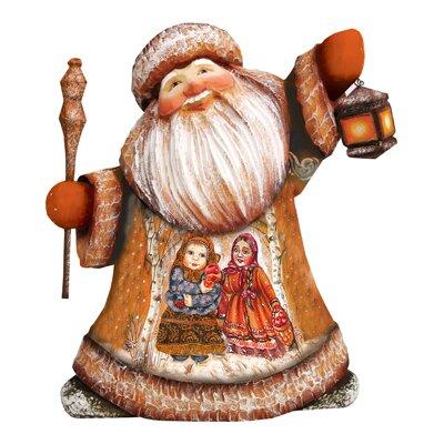 Masterpiece Sisterly Love Santa Figurine