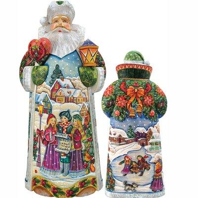 Holiday in Harmony Santa Figurine