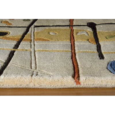 Momeni New Wave Beige Area Rug