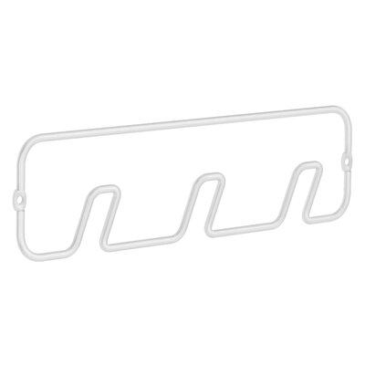 Beslagsboden Hook Rack Finish: White