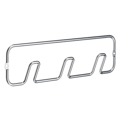 Beslagsboden Hook Rack Finish: Polished Chrome