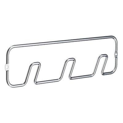 Beslagsboden Hook Rack Finish: Polished Chrome