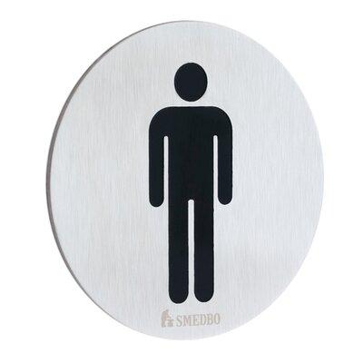 Xtra Restroom Sign Gentleman