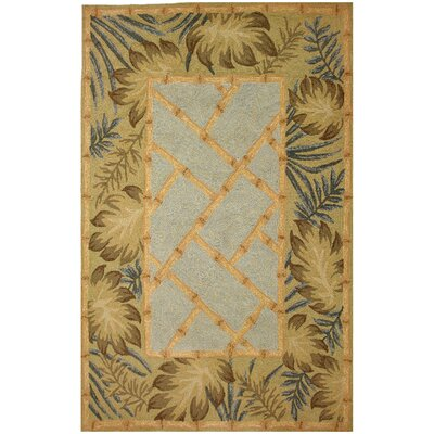 Homefires Tropical Palms and Bamboo Indoor/Outdoor Rug