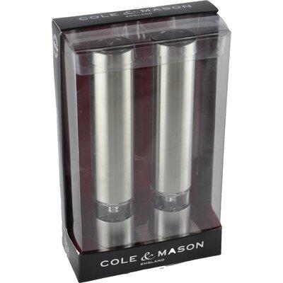Cole & Mason 2-tlg. Salz- und Pfeffermühlen Set Chiswick Mini