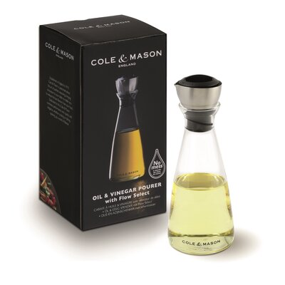 Cole & Mason Essig-/ Ölflasche Flow Select