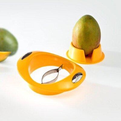 GSD 17,5 cm Mangoschneider mit Fruchthalter
