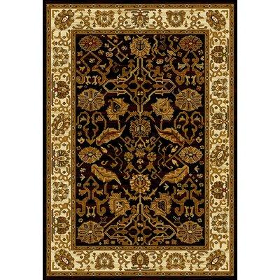 United Weavers of America Affinity Persian Canvas Black Area Rug