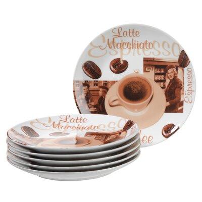 Josef Mäser GmbH Dessertteller-Set Orto aus Porzellan