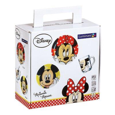Josef Mäser GmbH 3-tlg. Kindergeschirr Minnie Mouse