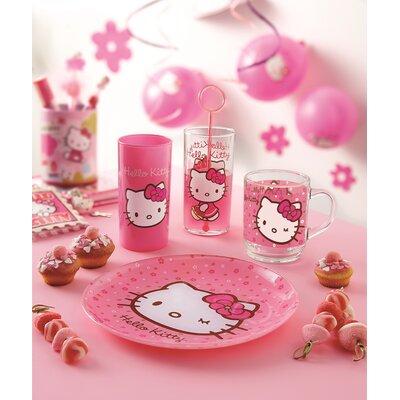 Josef Mäser GmbH 3-tlg. Kindergeschirr Hello Kitty Pink