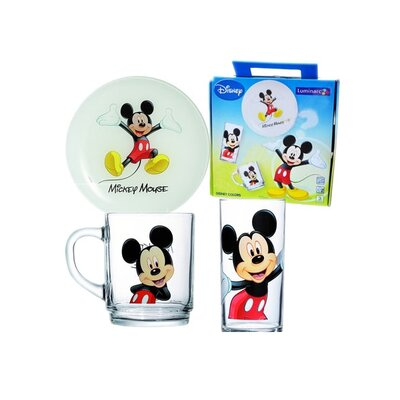 Josef Mäser GmbH 3-tlg. Kindergeschirr Disney Colors