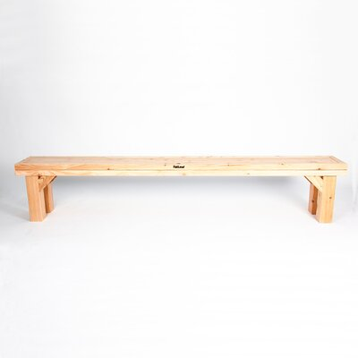 Fat Leaf Cathedral 5 Seater Pinewood Bench