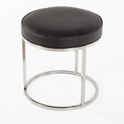 Modern Accent Stool Color: Black