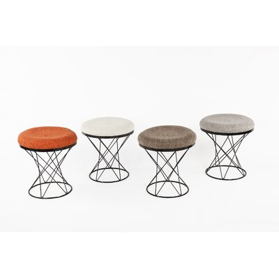 Tyras Stool Color: Gray