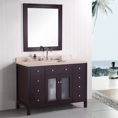 "McQueen 48"" Single Bathroom Vanity Set"