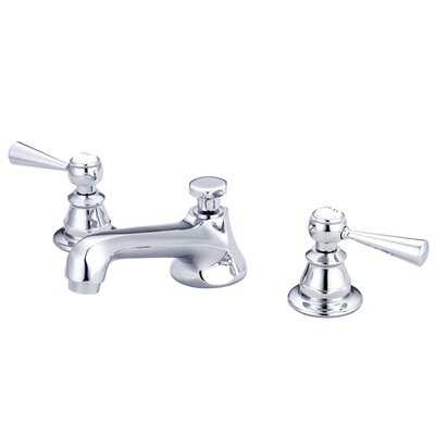Carlson Lavatory Widespread Faucet With Drain Assembly Finish: Triple Plated Chrome