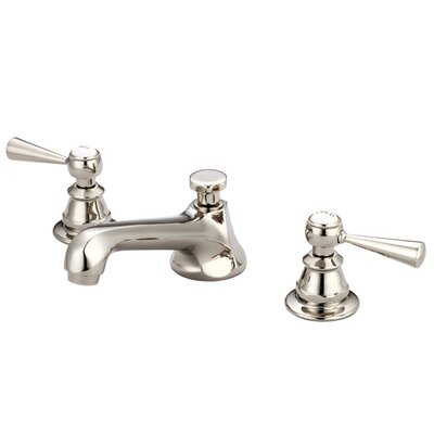 Carlson Lavatory Widespread Faucet With Drain Assembly Finish: Polished Nickel (PVD)