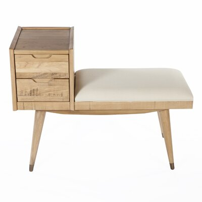 Upholstered Storage Entry Bench
