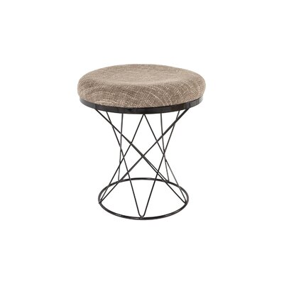 The Tyras Stool Color: Beige