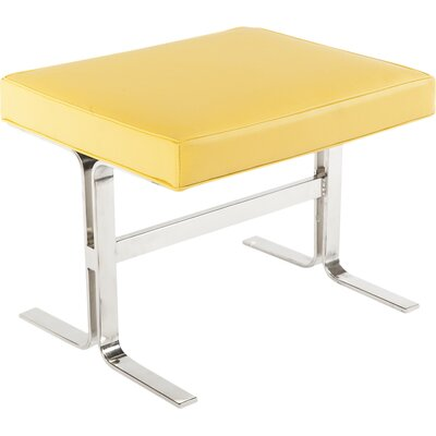 Arendal Stool Color: Yellow