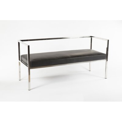 Savsjo Bench Upholstery Color: Black