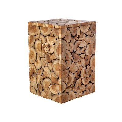 Briscoe Wood Accent Stool
